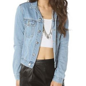 Cheap Monday light denim jean jacket